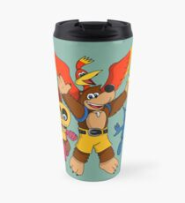 """""""Heroes of the Witch's Lair"""" Travel Mug"""