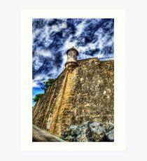 La Garita del Morro, Old San Juan, Puerto Rico Art Print