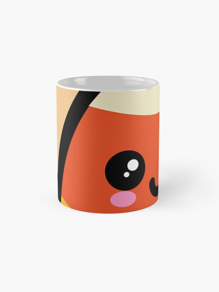 Alternate view of Creepy Egg Candy Corn - Halloween Mugs