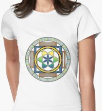 Celtic Circle Design Women's Fitted T-Shirt