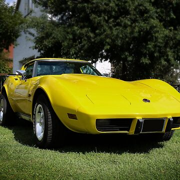 C3 Corvette - yellow by hottehue