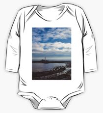 St Mary's Island and Lighthouse One Piece - Long Sleeve