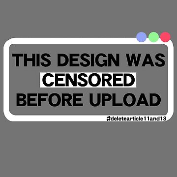 This Design Was Censored Before Upload by RobSp1derp1g