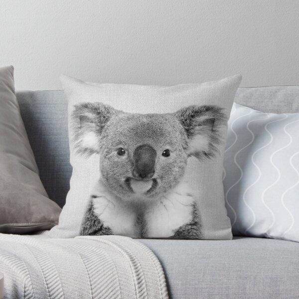 Koala - Schwarz & Weiß Dekokissen