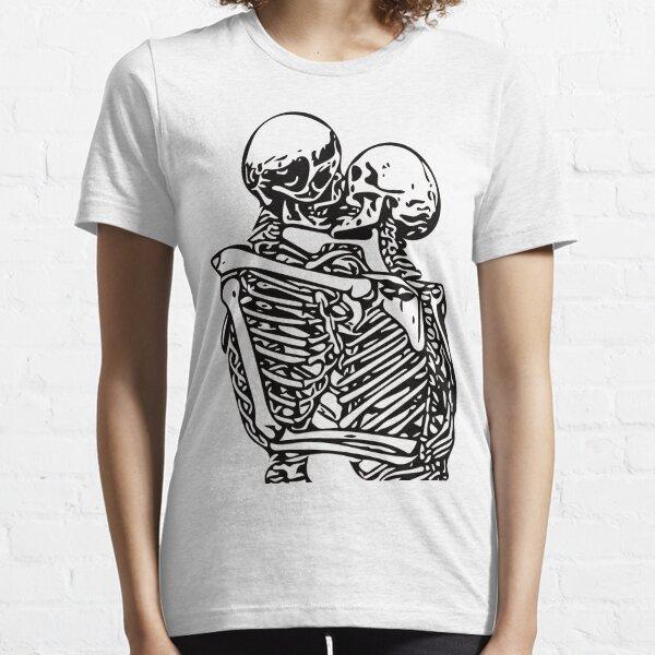 Kissing skeletons rib cage Essential T-Shirt