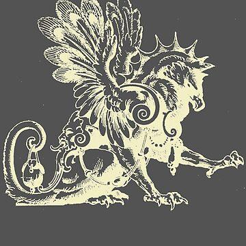 Gryphon Gargoyle by Zehda