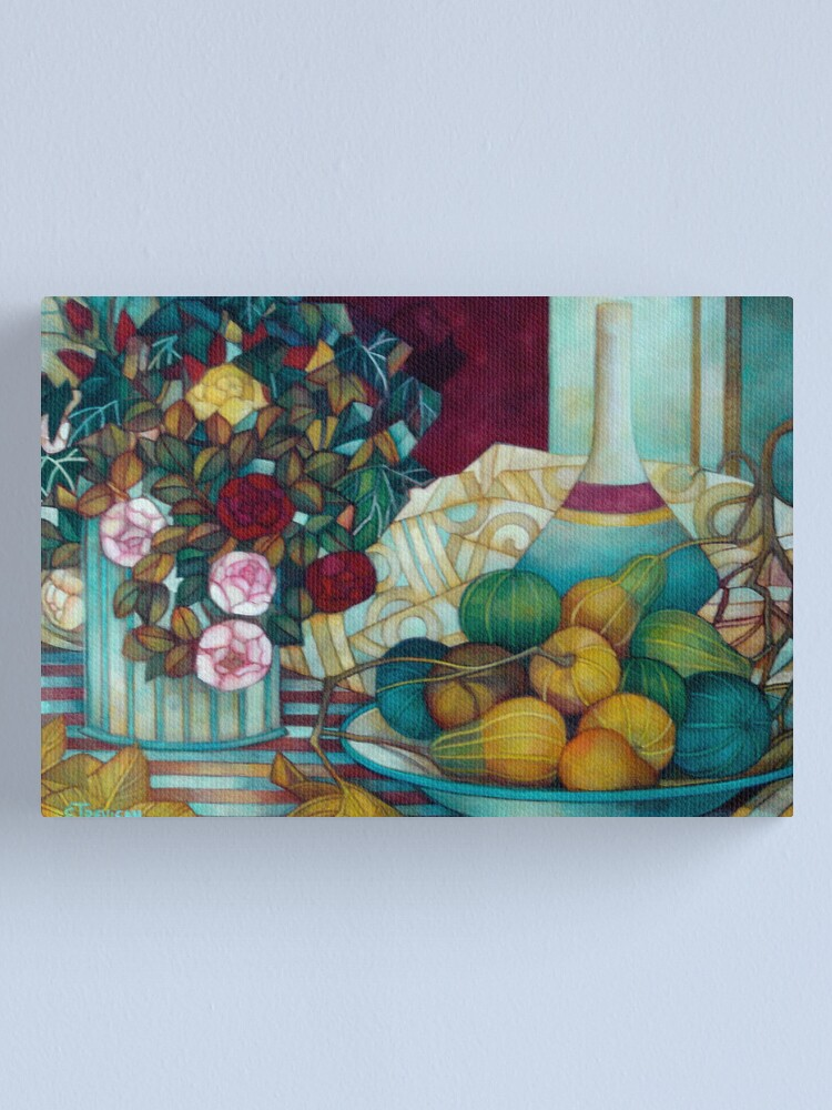 Alternate view of still life with pumpkins Canvas Print