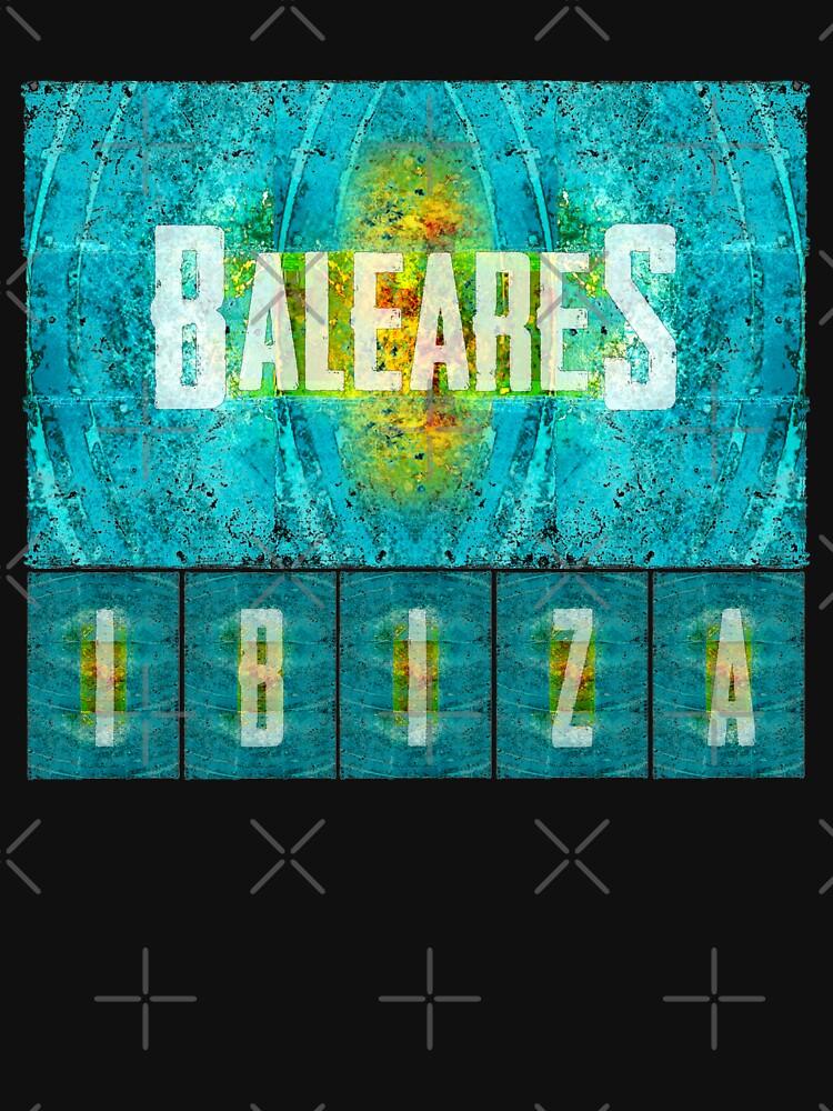 Balearen Ibiza von Periartwork