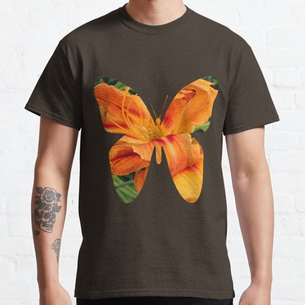 Daylily butterfly Classic T-Shirt