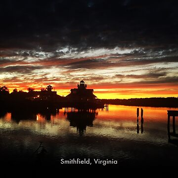 Smithfield, Virginia Sunset by ATJones