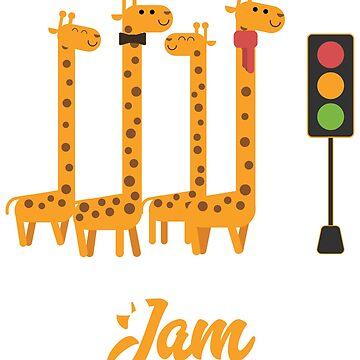 GIRAFFIC JAM - FUNNY GIRAFFE SHIRT | GIFT by UltimateTWorld