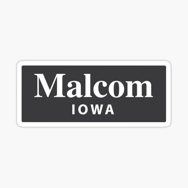 Malcom, Iowa Sticker