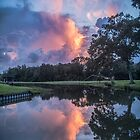 Heavenly Reflections on an October Day in the Country by Bonnie T.  Barry