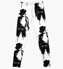 Legging Retrato de tinta de Michael Jackson