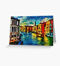 One Day In Venice Fine Art Print Greeting Card
