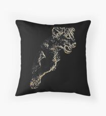 African Lion Cub - Young Lion Throw Pillow