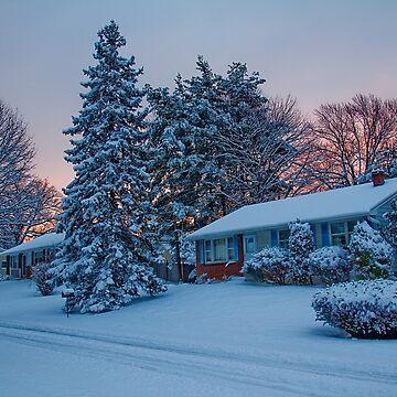 Winter Morning. Sunrise. by vadim19