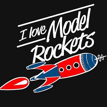 I love model rockets by Myriala