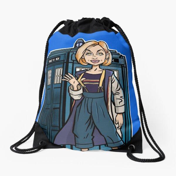 Hello Drawstring Bag