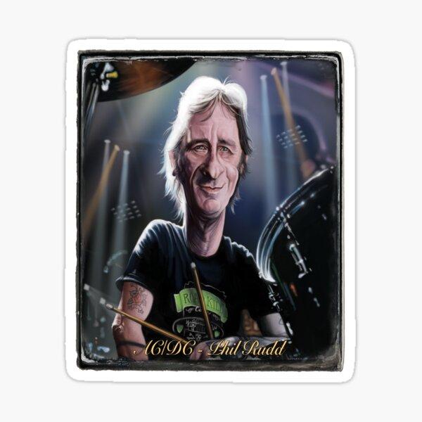 Phil Rudd Sticker