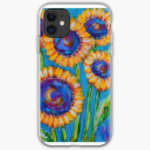 Sunflowers iPhone Soft Case