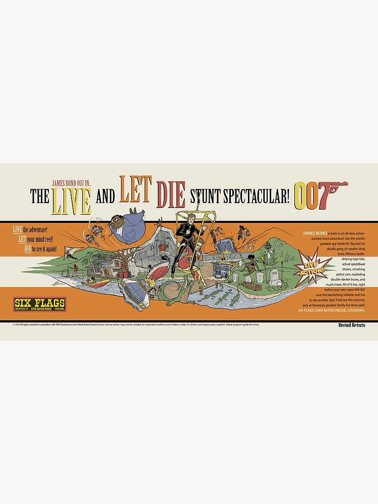 LIVE AND LET DIE STUNT SPECTACULAR by MattGourley