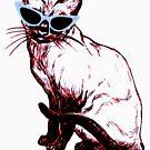 Cat Eye Siamese T-Shirt by EthosWear