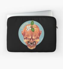 O is for Orkange - Alphabet of Haunted Food Laptop Sleeve