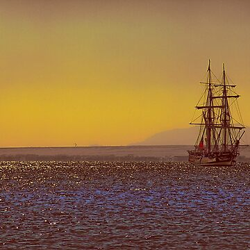 Egypt. Hurghada. Tall Ship at the Red Sea. by vadim19