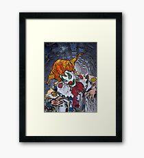 Coulrophobia Framed Print