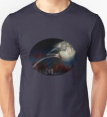 Transparent Raven Unisex T-Shirt