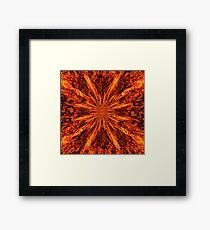 Born in Fire Framed Print