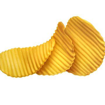Potato Chips by NeonArcade87
