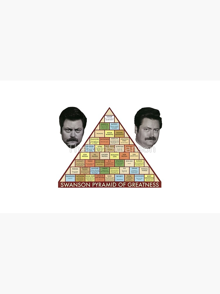 Pirámide de la grandeza de Swanson de TheRonSwanson