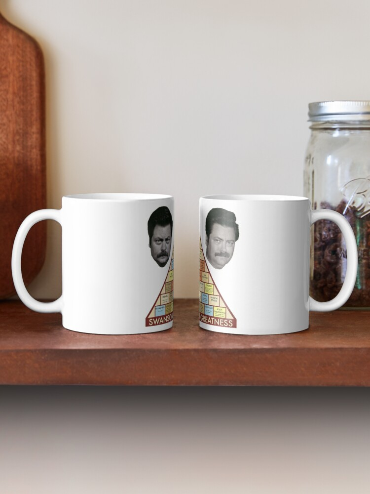 Alternate view of Swanson Pyramid of Greatness Mug