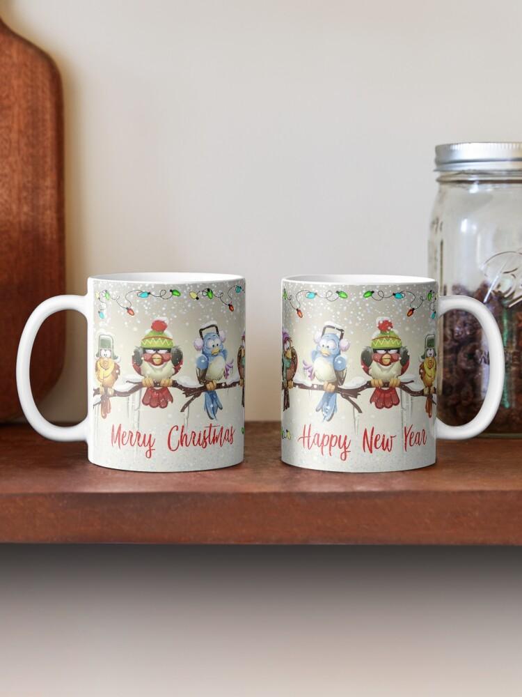 Alternate view of Chilly Birds! Mug