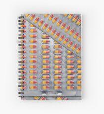 new moschino pill pack Spiral Notebook