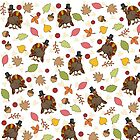 Thanksgiving Turkey pattern by ValentinaHramov