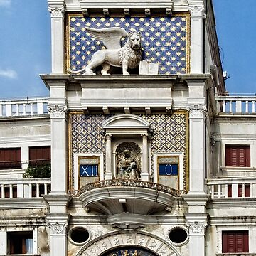 The Clock Tower in Venice, Italy by gerdagrice