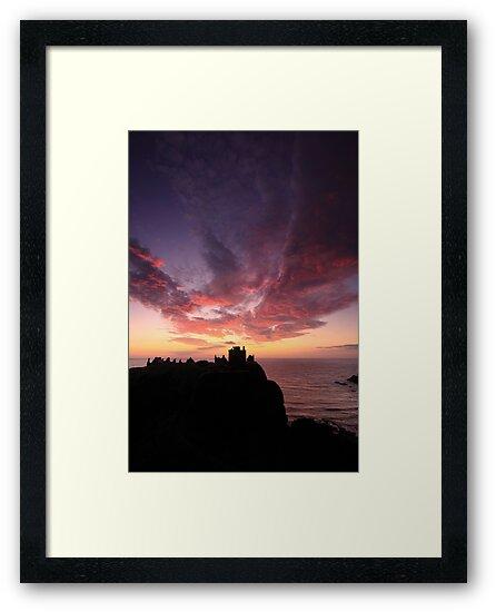 Dunnottar Castle Sunrise. by Empato Photography