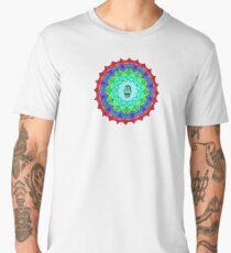 Hamsa Symbol Mandala Men's Premium T-Shirt