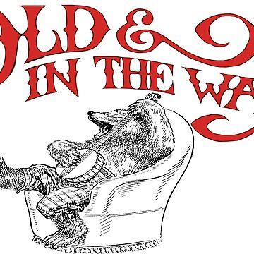 Banjo Bear Old & In The Way by mkkessel