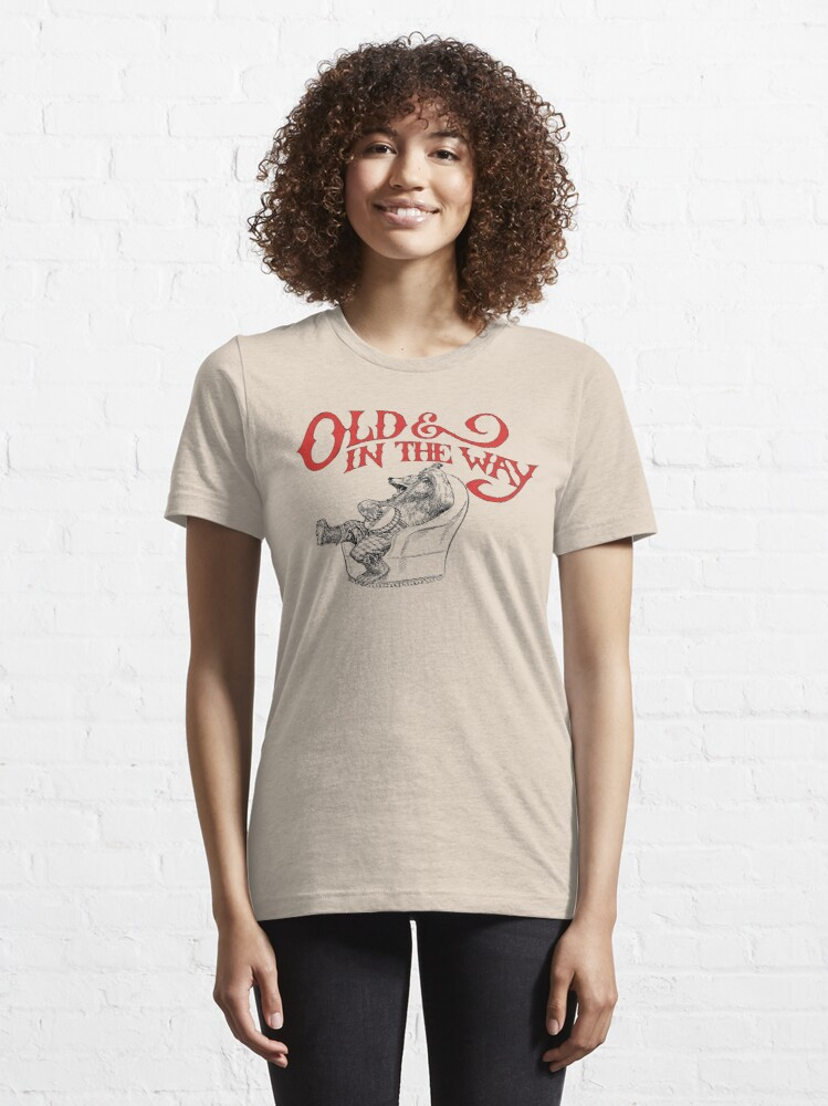 Alternate view of Banjo Bear Old & In The Way Essential T-Shirt