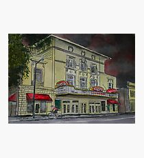 Lucas Theatre Savannah GA Art Photographic Print