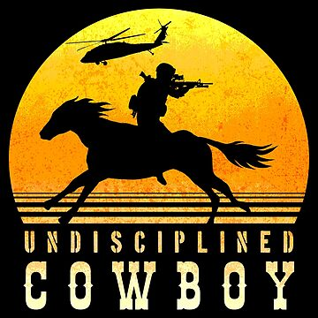 Undisciplined Cowboy by CCCDesign