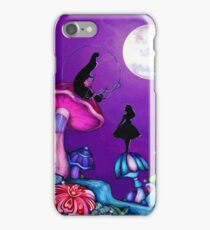 Alice in Wonderland and Caterpillar iPhone Case/Skin