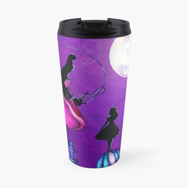 Alice in Wonderland and Caterpillar Travel Mug
