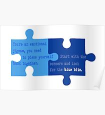 Man Up - Look for the Blue Bits  Poster