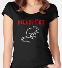 Camiseta entallada de cuello ancho Rata del ratón