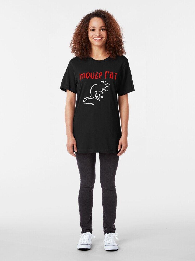 Alternate view of Mouse Rat Slim Fit T-Shirt